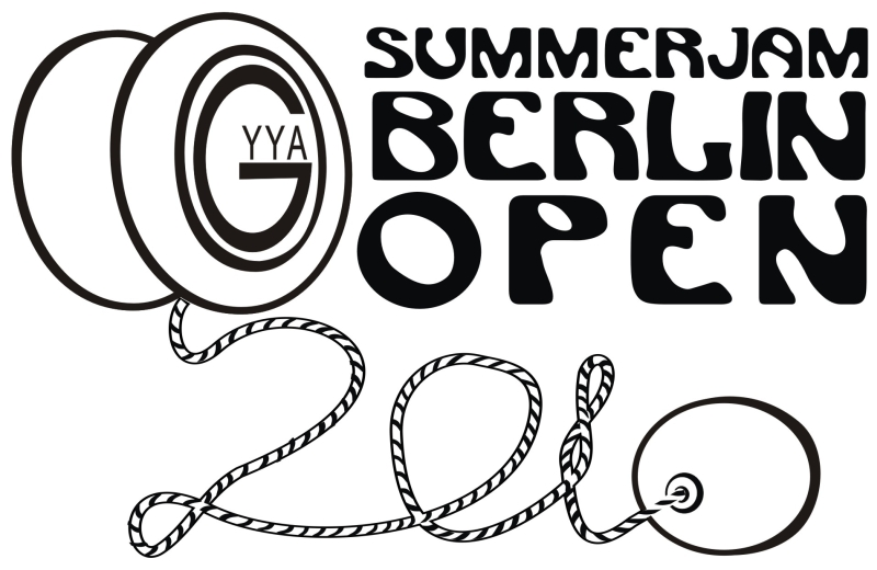 Summerjam Berlin Open - Logo by Oke Rosgana